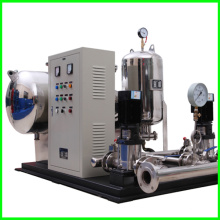 Aucun équipement d'alimentation en eau de pression négative