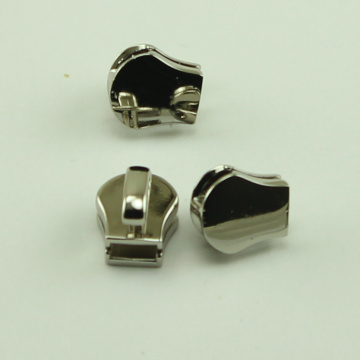 Stainless Steel Metal Slider for Leather Jacket Zipper