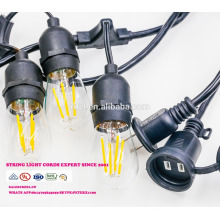 SL-30 Wholesale christmas pendant decorative string light E26 lamp socket ac power cord with inline switch