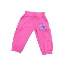 Pantalones 100% algodón chica, ropa caliente de los cabritos de las ventas (SGP021)