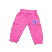 100% Cotton Girl Pants, Hot Sales Kids Clothing (SGP021)