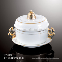 healthy japan style white special durable casserole