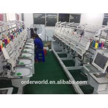 Китай Заводская цена компьютеризированная машина вышивки 10 голов