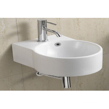 Bassin de salle de bains en céramique suspendu (1054A)