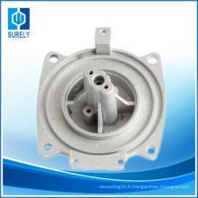 Traitement d'usinage par CNC de précision des pièces de machine à café à moulage sous pression