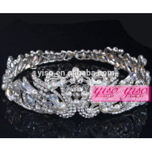 crystal diamond beauty pageant holiday wedding tiara crowns