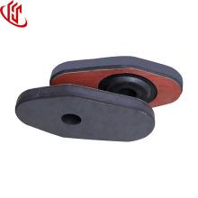 plaque de porte coulissante de buse coulissante de matériaux réfractaires de poche