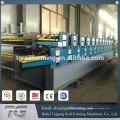 Fácil de operar en el techo y la pared de doble capa de máquinas de formación de rollo