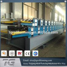 Alibaba fabricante doble capa de techo que forma la máquina de doble capa de metal techo formando la máquina