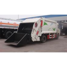 China 4X2 5cbm Compressed Garbage Truck com 120HP