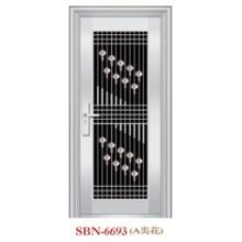 Porta de aço inoxidável para a luz do sol exterior (SBN-6693)