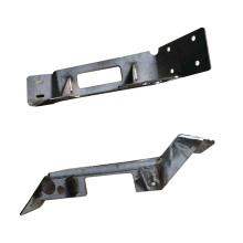 Accessoires de train métallique en acier à l'OEM