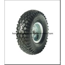 Roda pneumática do carrinho de mão de roda (350-4) com bom preço