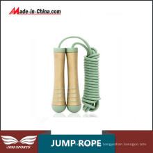 Corda de salto livre ajustável do PVC do equipamento da aptidão