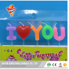 Lettre Happy Birthday Candle for Party