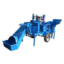 Máquina de bloques de suelo ecológicoM7MI Máquina de bloques de suelo estabilizado entrelazado gemela a Kenia