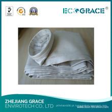 Saco de filtro industrial da fibra de vidro do preto de carbono (160-7000)