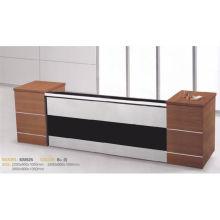 Barato Kintop mobiliário recepção mesa design de moda para estilo KM925