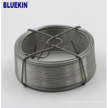 Eletro baixo fio de aço galvanizado mergulhado quente do baixo carbono 3mm do fornecedor da porcelana de Tianjin