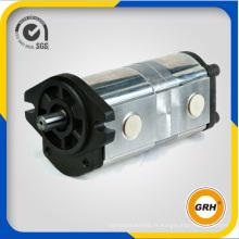 Pompe d'engrenage hydraulique double pour pompe à carburant rotatif (CBQL-F540 / F540)