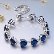 Cadeau de fête des mères de la mode 925 laiton laiton AAA zircon bracelets