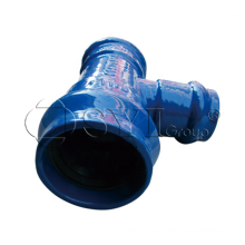 FBE PVC Ductile Iron Cast Iron Flanged Elbow Tee Socket Cross Pipe Fittings