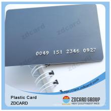 Pantone Color Printing Card Plastic Card