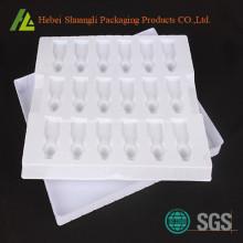 Bandeja de componentes electrónicos la ampolla embalaje de plástico