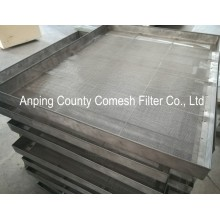 304 Stainless Steel Wire Mesh Filtering Tray