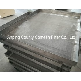Stainless Steel Perforated Mesh Metal Sheet Tray