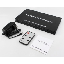 HDMI 1.4 HDCP 1.4 HDMI Matrix 4 x 4