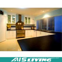 Black and White Classic Kitchen Cabinet Furniture Design (AIS-K360)
