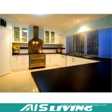 Projeto clássico preto e branco da mobília do armário de cozinha (AIS-K360)