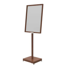 Bronze Farbe A1 Boden Poster Stand