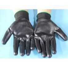 Маслостойкие защитные перчатки с нитриловым покрытием