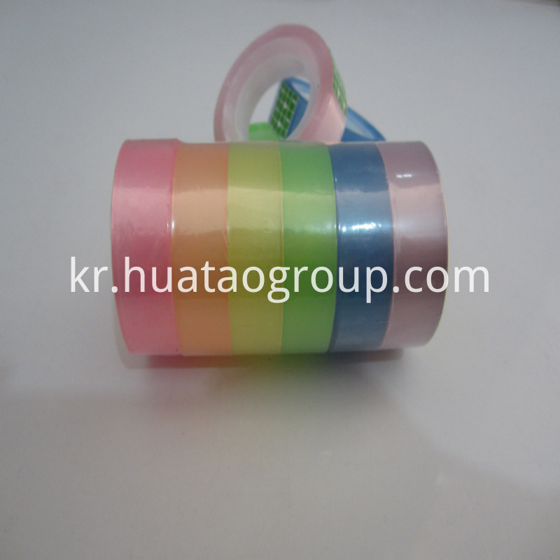 colorful stationery tape