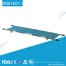 SKB1A01-1 civière portative de délivrance se pliante militaire d'alliage d'aluminium 2