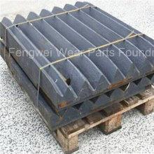 Backenbrecher zerteilt hohe Manganstahl-Schwenkbackenplatte