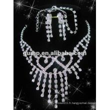 Dernier ensemble de bijoux de mariée (GWJ12-533)