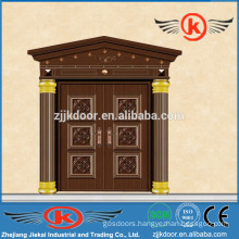 JK-C9036 unique home design security door copper arch door design