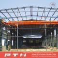 Pth Customized Design Low Cost Estructura de acero prefabricada Warehouse