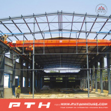 Pth Customized Design Low Cost Estructura de acero prefabricada Warehouse