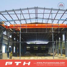 2015 entrepôt de structure métallique adapté aux besoins du client de coût bas préfabriqué