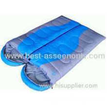Outdoor Lovers Sleeping Bag Patchwork Cotton Double Sleeping Bag Camping Sleeping Bag Spring And Autumn Sleeping Bag
