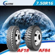 EU-Label S-MARK Tyre LTR Truck Tyre (7.50R16)