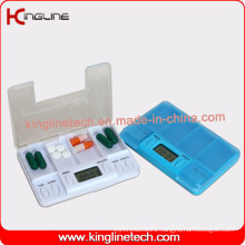 Cutom Color Time Alarm Pill Box (KL-9214)