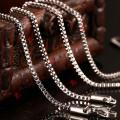 Mode Edelstahl Kette Halskette für schwimmende Locket (NC13-18)