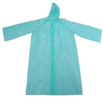 100% PE Disposable Raincoat