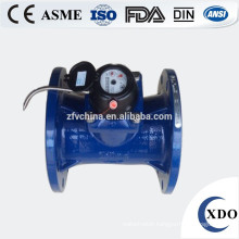 Large diameter photoelectric remote water meter