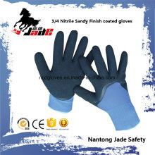 13G 3/4 Nitrile Sandy Finish Coated Glove
